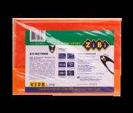 @/Обложка для учебников NEON 250*420мм с клапаном, PVC, оранжевый, 5шт/упак., KIDS Line
