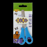 Ножницы детские 132мм с линейкой, синий, KIDS Line