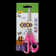 Ножницы детские 152 мм с пластиковыми 3D-ручками,  розовые, KIDS Line