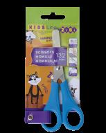 Ножницы детские 132мм, для левши, синий, KIDS Line