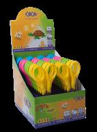^Ножницы детские FANTASY,125 мм, в картонном дисплее, цвета ручек ассорти, KIDS Line