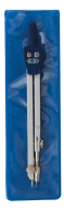 Циркуль COLLEGE в мягком PVC чехле, темно-синий, KIDS Line