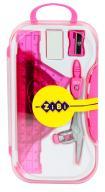 Готовальня BASIS, 8 предметов, розовый, KIDS Line
