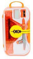 @$Готовальня BASIS, 8 предметов, оранжевый, KIDS Line
