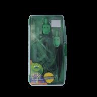@$Готовальня 9 предметов (зеленый), SMART Line