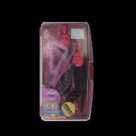 @$Готовальня 9 предметов (розовый), SMART Line