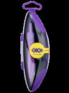 Циркуль START NEON в твердом футляре, с запасным грифелем, фиолетовый, KIDS Line