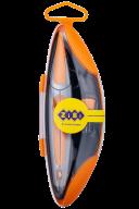 Циркуль в твердом футляре START  ERGO оранжевый, KIDS Line