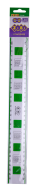 Линейка 30 см для левши и правши с таблицей умножения, в блистере, KIDS Line