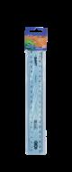 @$Линейка пластиковая 20 см, тонированная, ассорти, в блистере, SMART Line