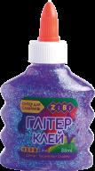 Клей НЕОН ГЛИТТЕР фиолетовый на PVA-основе, прозрачный, 88 мл, KIDS Line