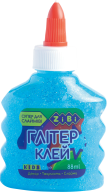 Клей НЕОН ГЛИТТЕР голубой на PVA-основе, прозрачный, 88 мл, KIDS Line