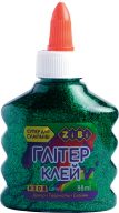 Клей ГЛИТТЕР зеленый на PVA-основе, прозрачный, 88 мл, KIDS Line