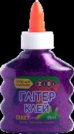Клей ГЛИТТЕР фиолетовый на PVA-основе, прозрачный, 88 мл, KIDS Line