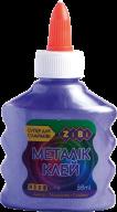 Клей МЕТАЛЛИК фиолетовый на PVA-основе, 88 мл, KIDS Line