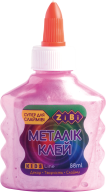 Клей МЕТАЛЛИК розовый на PVA-основе, 88 мл, KIDS Line