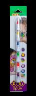 @Карандаши для грима лица и тела НЕОН ПОЗИТИВ, 6 цветов неон, 22 гр, KIDS LINE