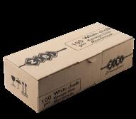 /Мел белый квадратный школьный, 100 шт., картонная коробка, KIDS Line