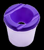 /Стакан-непроливайка, фиолетовый, KIDS Line