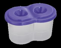 /Стакан-непроливайка двойной, фиолетовый, KIDS Line