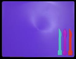 /Доска для пластилина, 3 стека, фиолетовый, KIDS Line