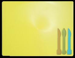/Доска для пластилина, 3 стека, желтый, KIDS Line