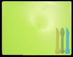 /Доска для пластилина, 3 стека, салатовый, KIDS Line