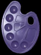 /Палитра для рисования на 10 ячеек, фиолетовая, KIDS Line