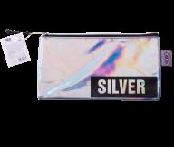 Пенал SILVER, 20x9x1 см, плоский