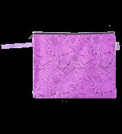 """Папка для тетрадей """"ШКОЛА"""", А4, 33x24x1 см, фиолетовая"""