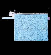 """Папка для тетрадей """"ШКОЛА"""", А4, 33x24x1 см, голубая"""