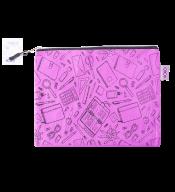 """Папка для тетрадей """"ШКОЛА"""", А5, 24.5x20x1 см, фиолетовая"""