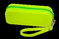 Пенал силиконовый МОНОХРОМ, 18х7х5 см, желтый