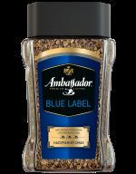 """/Кофе растворимый 95 г*6, стекл. банка, """"Blue Label"""", AMBASSADOR"""