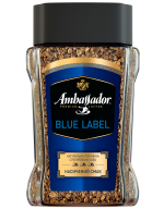 "/Кофе растворимый 190г*8, сткл.б, ""Blue Label"", AMBASSADOR (7612)"
