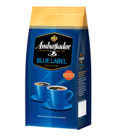 """/Кофе в зернах 1000г*6, пакет, """"Blue Label"""", AMBASSADOR (PL)"""