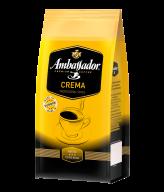 """/Кофе в зернах 1000г*6, пакет, """"Crema"""", AMBASSADOR (PL)"""
