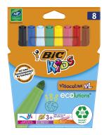 """/Фломастеры """"Kids Visacolor XL"""", 8 цветов"""