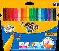 """/Фломастеры """"Kids Visa 880"""", 18 цветов"""