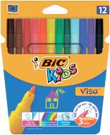"""/Фломастеры """"Kids Visa 880"""", 12 цветов"""