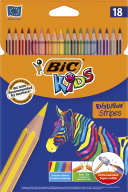 "/Карандаши цветные ""Evolution Stripes"", 18 шт"