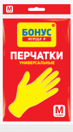 /Перчатки универсальные, резиновые, размер M, БОНУС без НДС