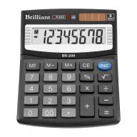 /Калькулятор BS-208  8р., 2-пит