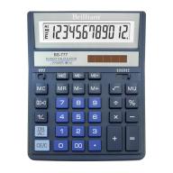 /Калькулятор BS-777ВL 12р., 2-пит, синий