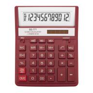 /Калькулятор BS-777RD 12р., 2-пит, красный