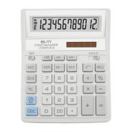 /Калькулятор BS-777WH 12р., 2-пит, белый