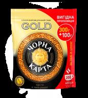 """/Кофе растворимый 400г, пакет,""""Gold"""", ЧЕРНАЯ КАРТА (8718)"""