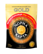 /Кофе растворимый 130г *6, пакет, выгодное предложение, Gold, ЧЕРНАЯ КАРТА (8718)