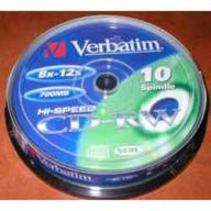 /(43480/43148/43123) Диск CD-RW,700Mb,12-24х, Cake(10)