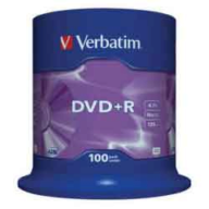 /(43551)Диск DVD+R,4.7Gb,16х, Cake(100)